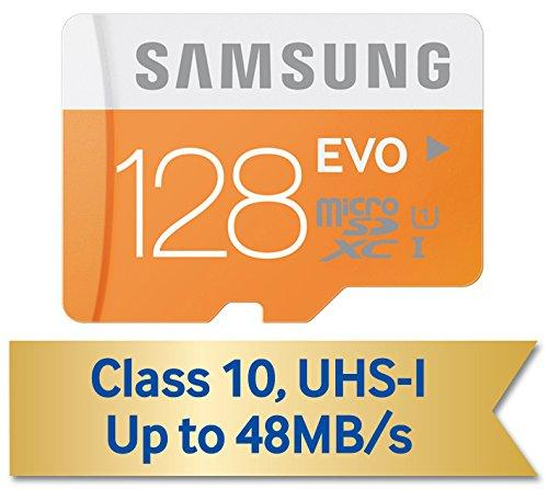 Samsung 128GB EVO Micro SDXC with Adapter (MB-MP128DA/AM)