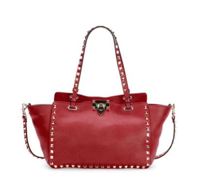 Valentino Rockstud Leather East-West Tote Bag @ Bergdorf Goodman