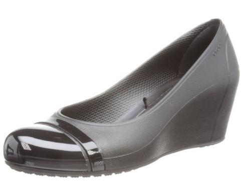 crocs Women's Cap Toe Wedge