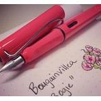 Lamy Safari 2014 Special Edition - Neon Coral Extra Fine Point Fountain Pen - L41-EF