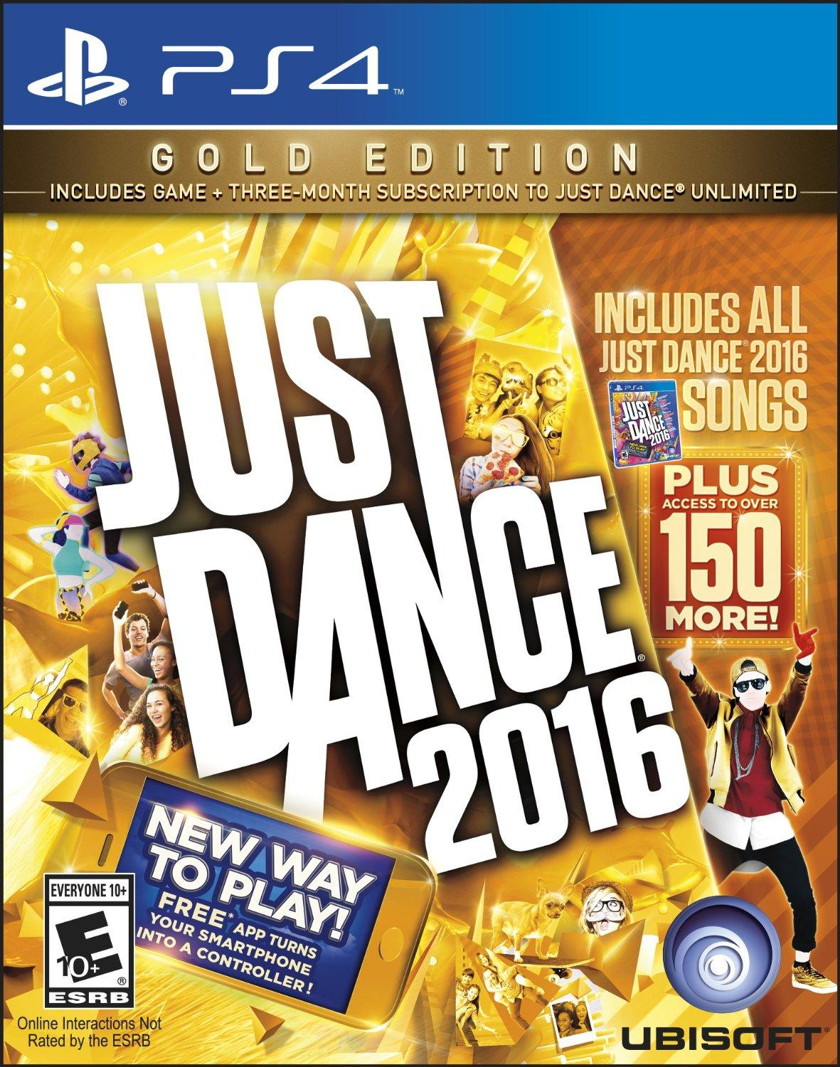 As low as $19.99 Just Dance 2016 and Just Dance Disney Party 2