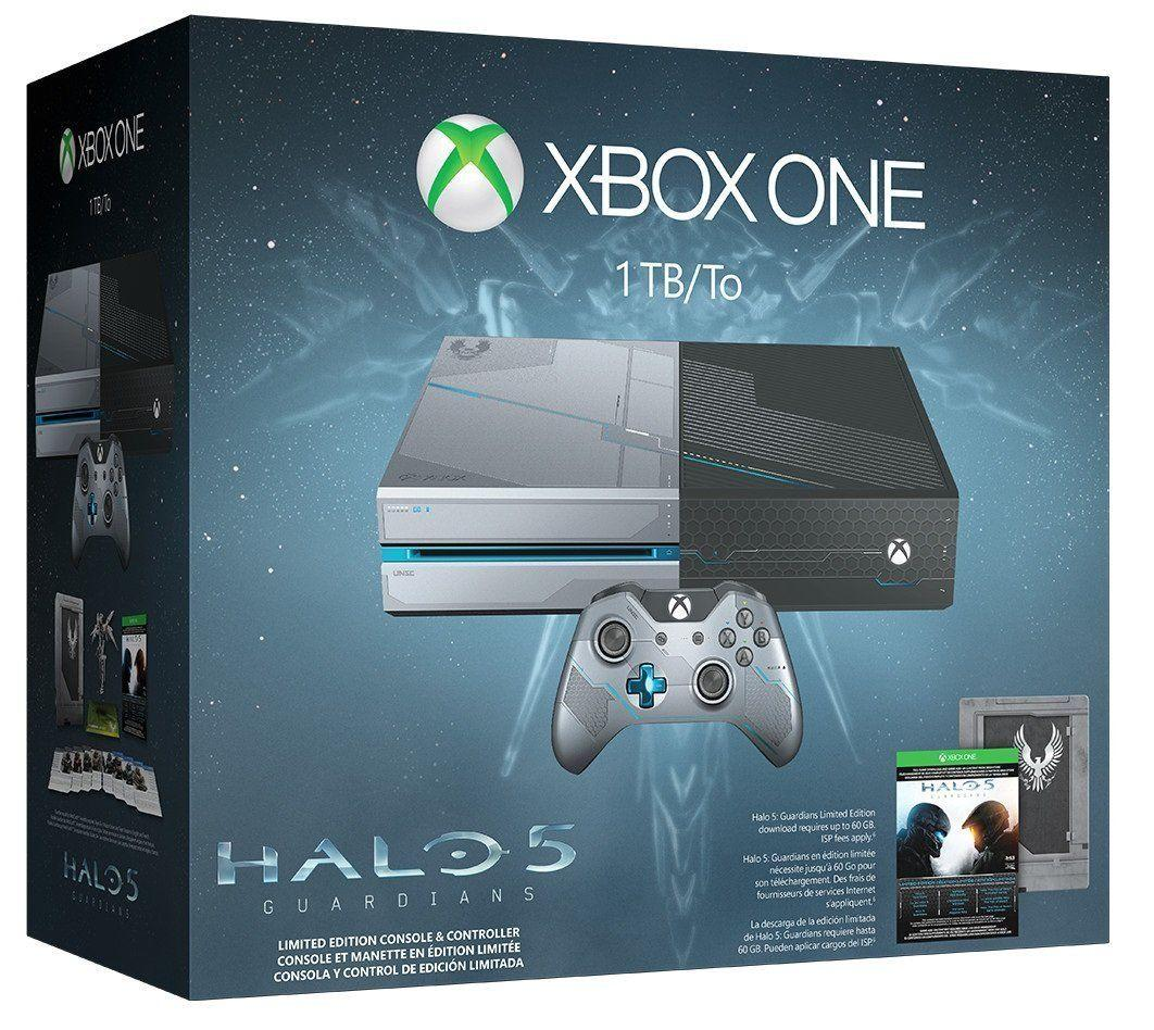 $269 Xbox One 1TB Console - Limited Edition Halo 5: Guardians Bundle