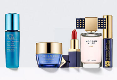 Free 5-pc Samples with Orders over $50 @ Estee Lauder