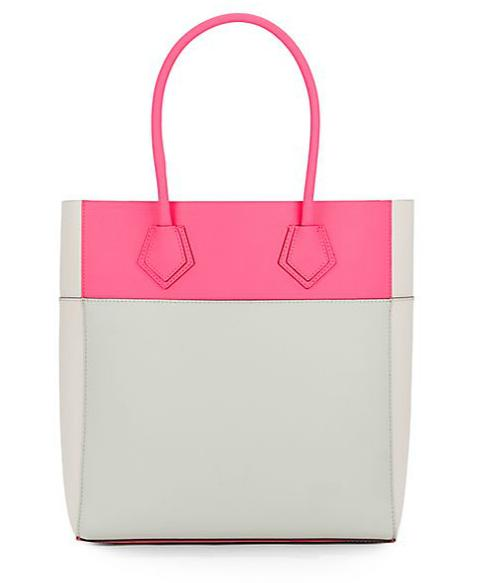 Rebecca Minkoff Adeline Colorblock Leather Tote
