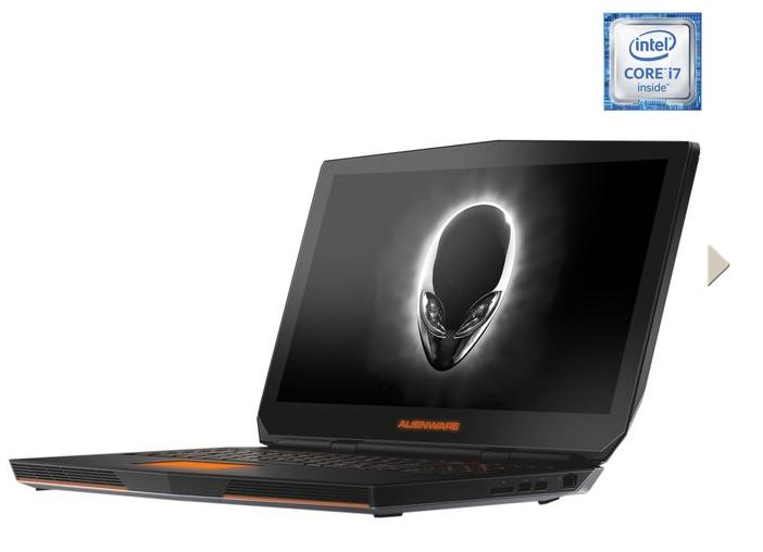 DELL Alienware AW17R3-1675SLV Gaming Laptop 6th Generation Intel Core i7 6700HQ (2.60 GHz) 8 GB Memory 1 TB HDD NVIDIA GeForce GTX 970M 3 GB GDDR5 17.3