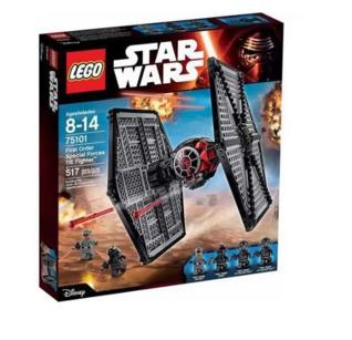 """$55.99 LEGO Star Wars First Order Special Forces TIE fighter"""" 75101"""