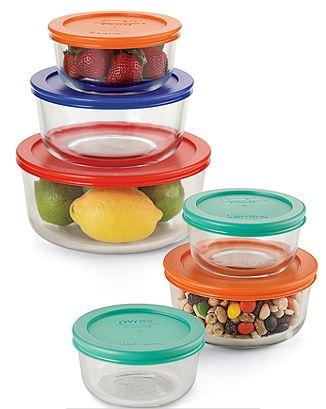 $9.97 Pyrex 12-pc. Storage Set or Pyrex 8-pc. Sculpted Bowl Set