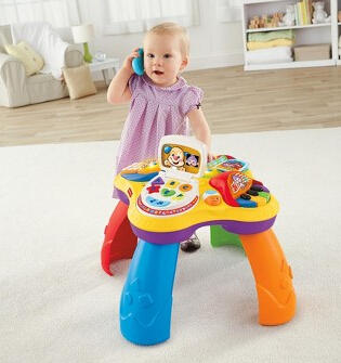 $23 Fisher-Price Laugh N Learn Puppy and Pals Learning Table