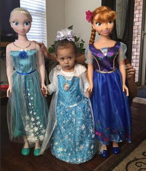 Disney Frozen My Size Doll Elsa or Anna