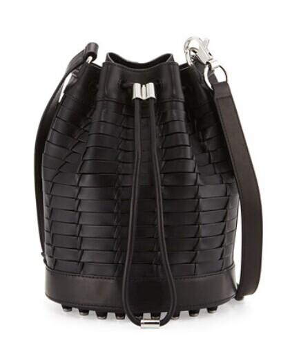 Alexander Wang Alpha Napa Leather Bucket Bag @ Bergdorf Goodman