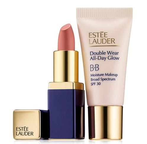 Estée Lauder All Day Glow + Sculpted Lips Set