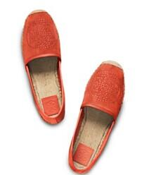 Tory Burch Kirby Suede Espadrille Flats @ Saks Fifth Avenue