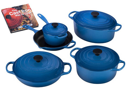 $749.99 The Ultimate Cast Iron Set