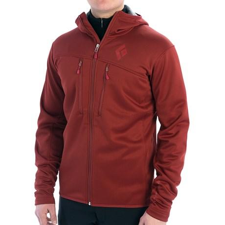 Black Diamond Equipment Tangent Hooded Jacket - Polartec® Wind Pro® Fleece (For Men)