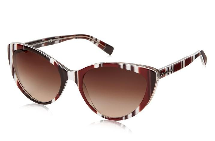 D&G Dolce & Gabbana 0DG4181P 27211356 Cat-Eye Sunglasses