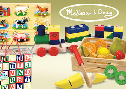 Up to 30% Off or Buy one get one 50% Off Blackfriday Sale @ Melissa & Doug