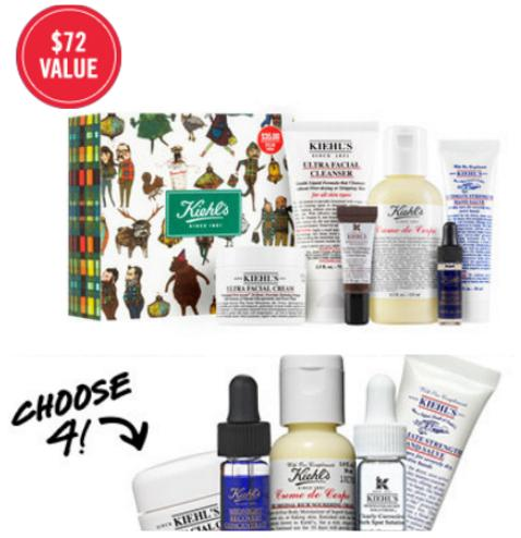$35($72 Value) Kiehl's Cyber Week Value Set + Free 4 Deluxe Samples on Any Purchase