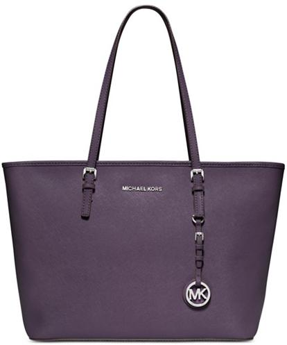 MICHAEL Michael Kors Jet Set Saffiano Travel Tote Bag