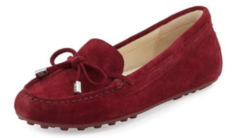 MICHAEL Michael Kors  Daisy Suede Moccasin @ Neiman Marcus