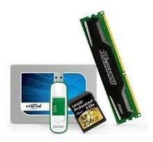 Up to 75% Off Select Crucial and Lexar Memory Products @ Amazon.com