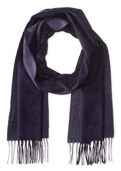 BOSS Hugo Boss Men's Albarello Scarf with Contrast Stripes