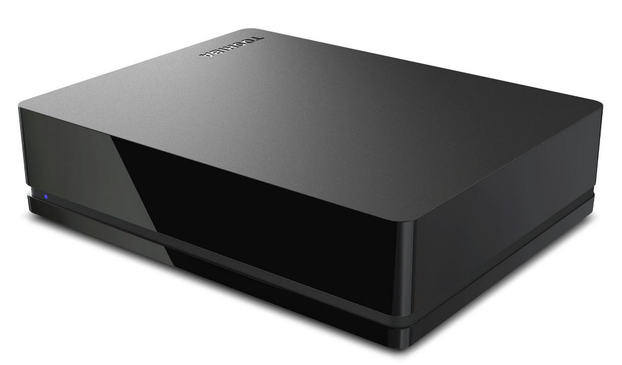 Toshiba 3TB Canvio Desk Desktop External Hard Drive (Black/Black) (HDWC130XK3J1)