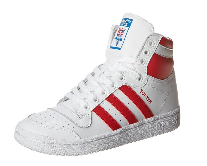 Adidas Originals Top Ten Hi J Basketball Shoe (Big Kid)