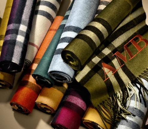 Up to 25% Off Burberry Scarves @ Bloomingdales