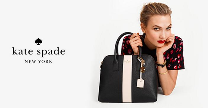 Extra Up to 25% Off Select Kate Spade Full-Price and Sale Items @ Bloomingdales