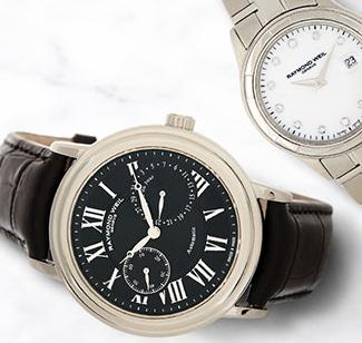 Up to 79% Off Raymond Weil & More Designer Watches On Sale @ Hautelook