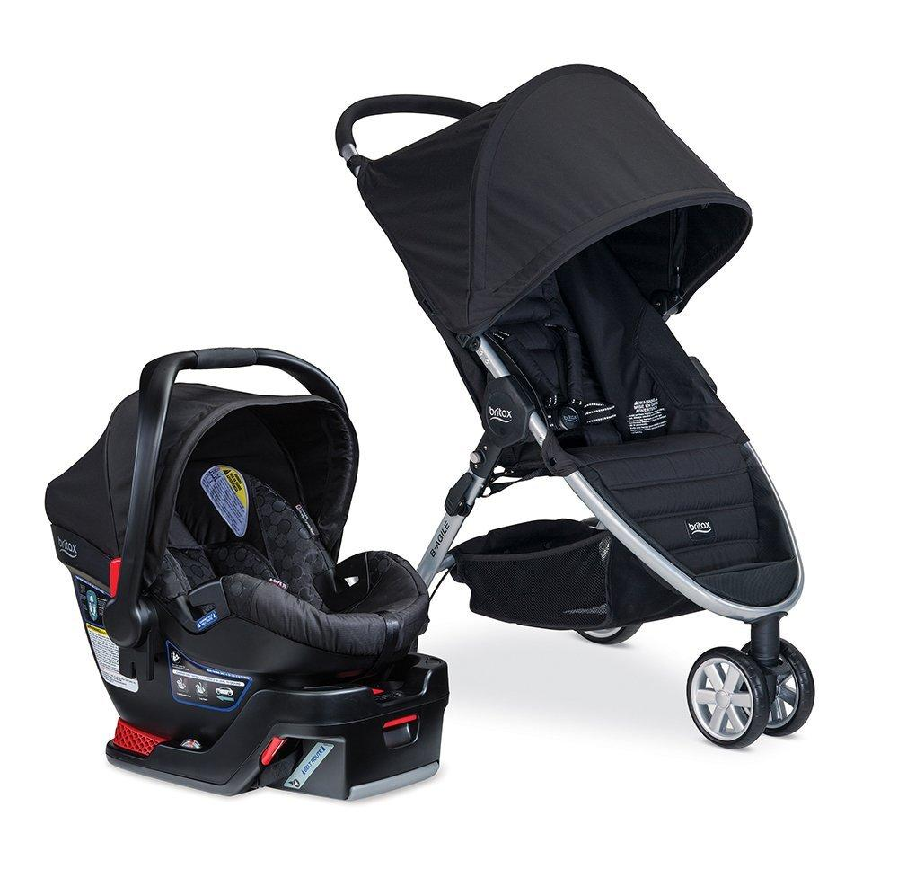 Lowest Price! Britax B-Agile 35 Travel System, Black or Sandstone