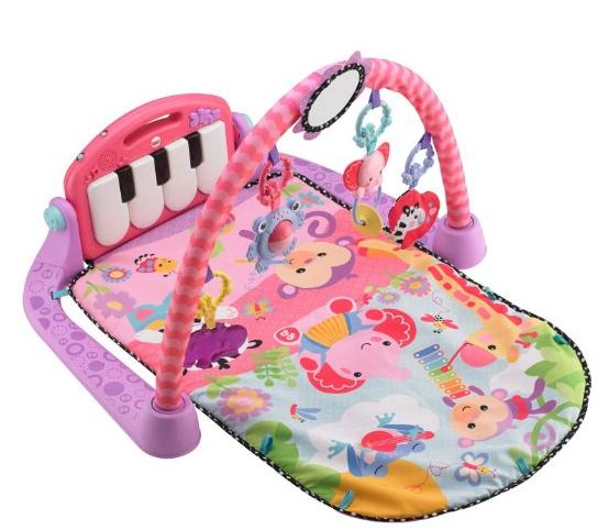 Fisher-Price Kick and Play Piano Gym, Pink @ Amazon.com