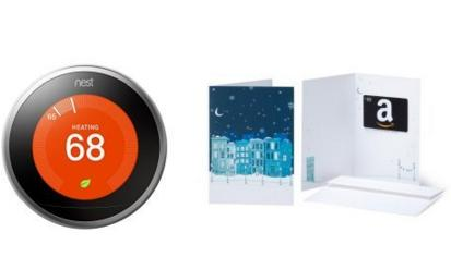 $249 Nest Learning Thermostat, 3rd Generation + $50 Amazon.com Gift Card