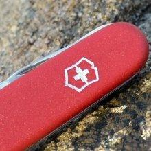 $14.99 Victorinox Swiss Army Spartan II Folding Camping Knives, Red, 91mm