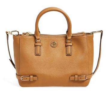 Tory Burch 'Small Robinson' Saffiano Leather Tote