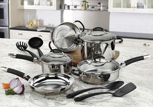 Cuisinart Stainless Steel 12-pc. Cookware Set @ Kohl's