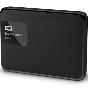 WD My Passport Ultra 1TB Premium Portable Storage (Classic Black): WDBGPU0010BBK-NESN