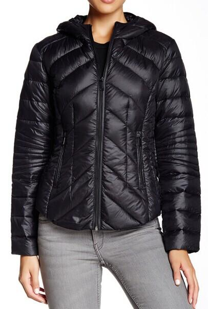 From $37.38 BCBGeneration Missy Short Hooded Packable Jacket @ Nordstrom Rack