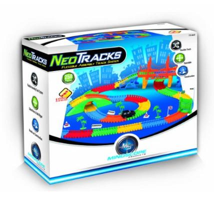 Mindscope Neo Tracks Twister Tracks 258 Flexible Track System