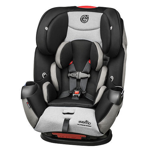 Evenflo Symphony LX Platinum All-in-One Convertible Car Seat - Lunar Skies