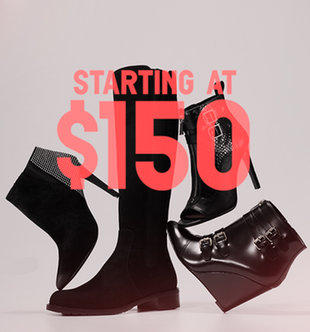 From $150 + Free Shipping Designer Shoes On Sale @ Gilt