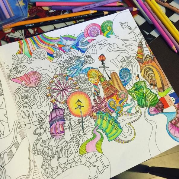 $6.73 Secret Garden: An Inky Treasure Hunt and Coloring Book