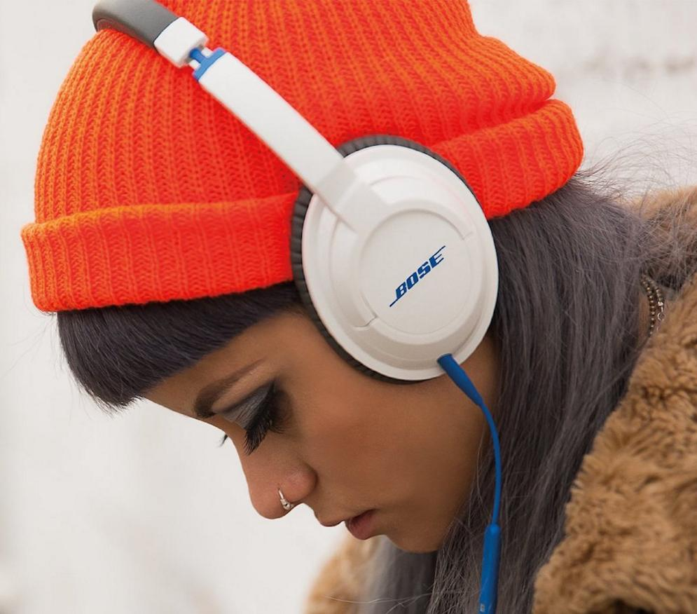 $74.99 Bose SoundTrue Around-Ear Headphones