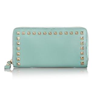 VALENTINO Rockstud leather wallet @ The Outnet