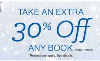 Extra 30% Books Sale @ Amazon