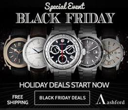 Up to 90% off Black Friday watch sale @ Ashford