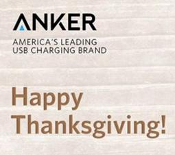 From $1.99 Anker Black Friday Deals @Amazon