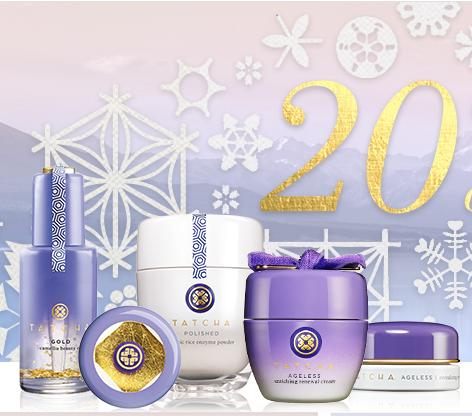20% Off + Free Shipping Friends and Family Sale @ Tatcha