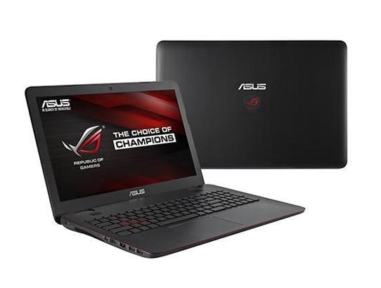 ASUS ROG GL551JW-WH71(WX) Gaming Laptop 4th Generation Intel Core i7 4720HQ (2.60 GHz) 8 GB Memory 1 TB HDD NVIDIA GeForce GTX 960M 2 GB GDDR5 15.6