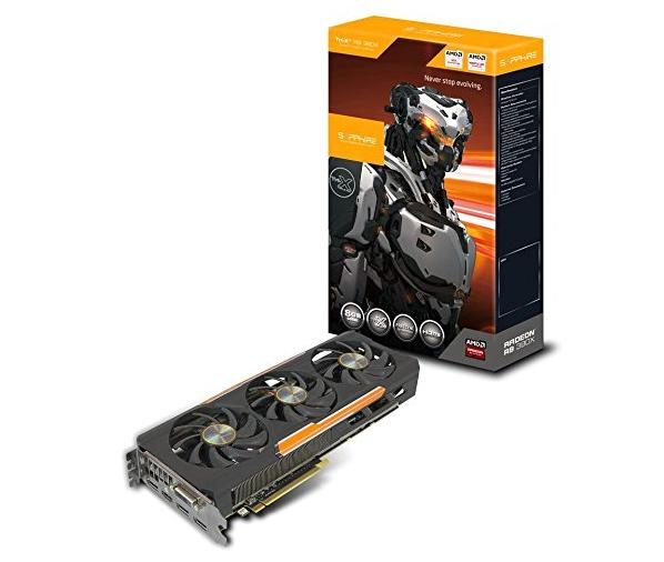 Sapphire Radeon R9 390X 8GB GDDR5 DVI-D / HDMI / TRIPLE DP Tri-X OC Version (UEFI) PCI-Express Graphics Card